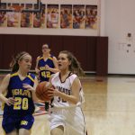 Girls C Team Basketball falls to Highland 26 – 15