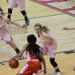 Girls Varsity Basketball beats Lake Station Jr/sr 54 – 43