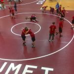 Boys Middle School Wrestling falls to Griffith 47 – 30