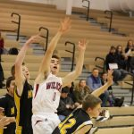 Boys C Team Basketball beats Kouts Jr/sr 43 – 19