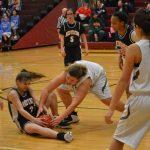 Girls 8th Grade Basketball beats Lake Station Jr/sr 28 – 14