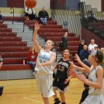 Girls 7th Grade Basketball falls to Kouts Middle/high School 50 – 9