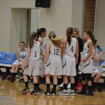 Girls 7th Grade Basketball beats Union Township Middle School 21 – 17