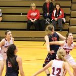 Girls Varsity Basketball falls to Knox in IHSAA Sectional 53 – 33