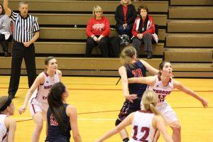 Varsity Girls Basketball vs. Knox @ IHSAA Sectional  2/2/18