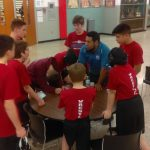 Boys Middle School Wrestling beats Griffith 60 – 30