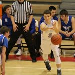 Boys Varsity Basketball beats Boone Grove 53 – 32