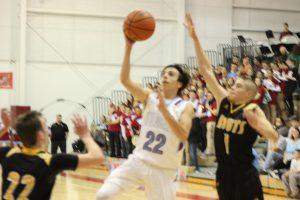 Boys Varsity Basketball vs. Kouts (SR Night-Gallery 1 of 3)  2/16/18