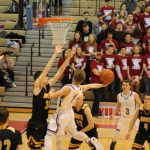 Boys Varsity Basketball beats Kouts Jr/sr 71 – 57