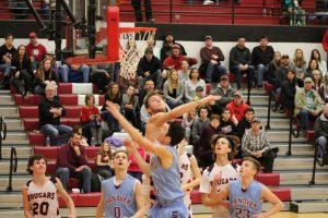 Boys JV Basketball vs. Kankakee Valley  2/17/18