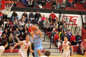 Varsity Boys Basketball vs. Kankakee Valley  2/17/18