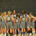 Girls 6th Grade Basketball beats Union Township Middle School 20 – 4