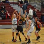 Girls 7th Grade Basketball beats Lake Ridge in GSSC Tournament – First Round – 7th Grade 18 – 16