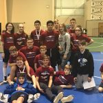 Boys Middle School Wrestling finishes in 2nd place at JR GSSC Tourney
