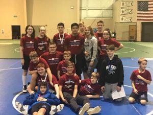 Middle School Wrestling @ JR GSSC Tourney