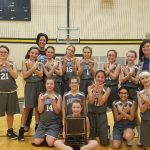 Girls 6th Grade Basketball beats Griffith and Union Township to win JR GSSC Tourney Championship!