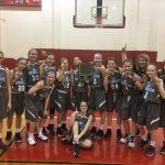 Girls 7th Grade Basketball beats Lake Station and Union Township to win JR GSSC Tourney Championship