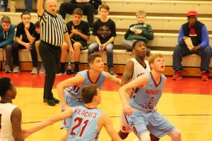 Boys Varsity Basketball @ IHSAA Sectional vs. Calumet  3/2/18