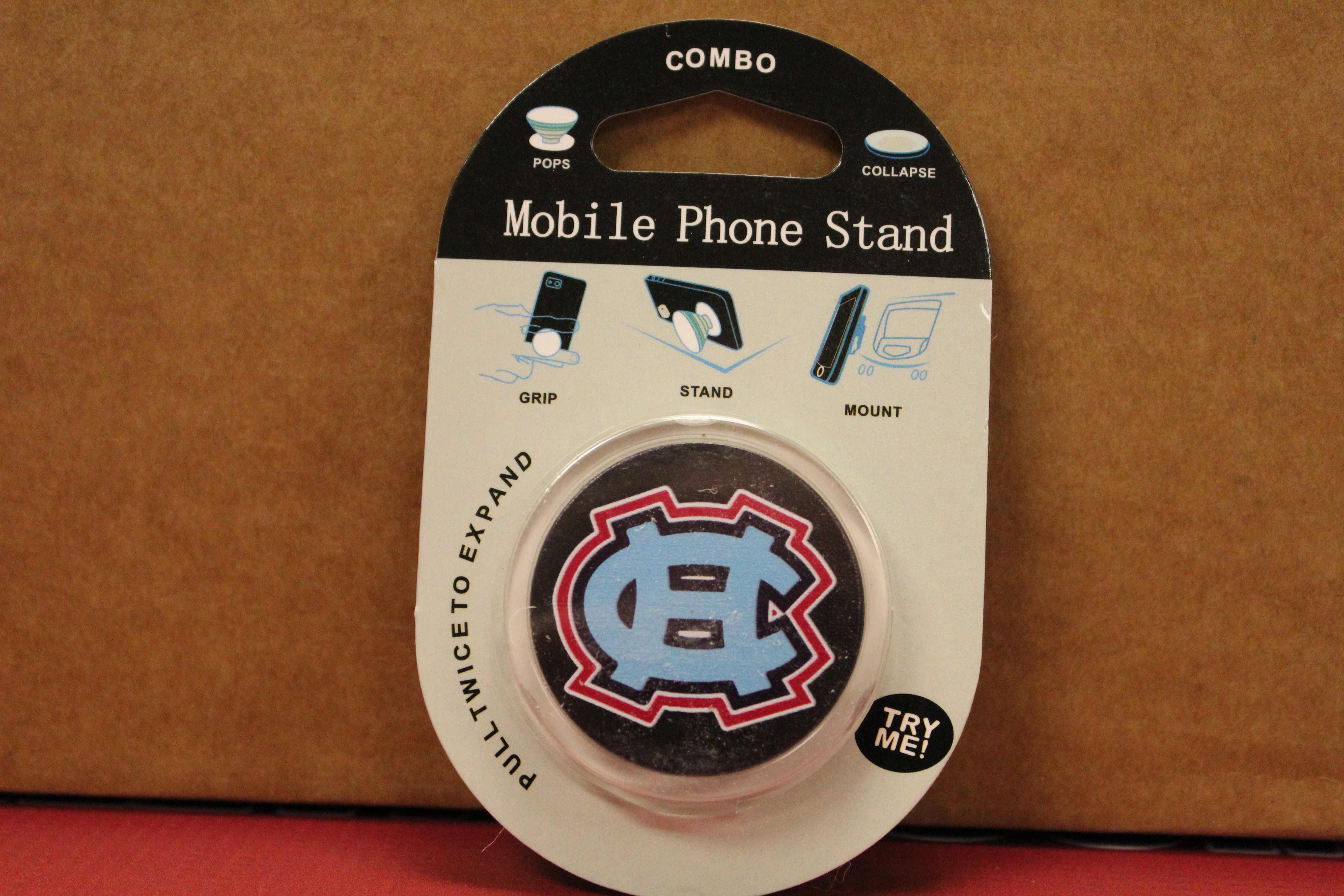 Grip, Stand Or Mount Your Cell Phone Hanover Central Style!