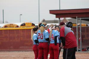 Varsity Girls Softball vs. Munster  3/26/18