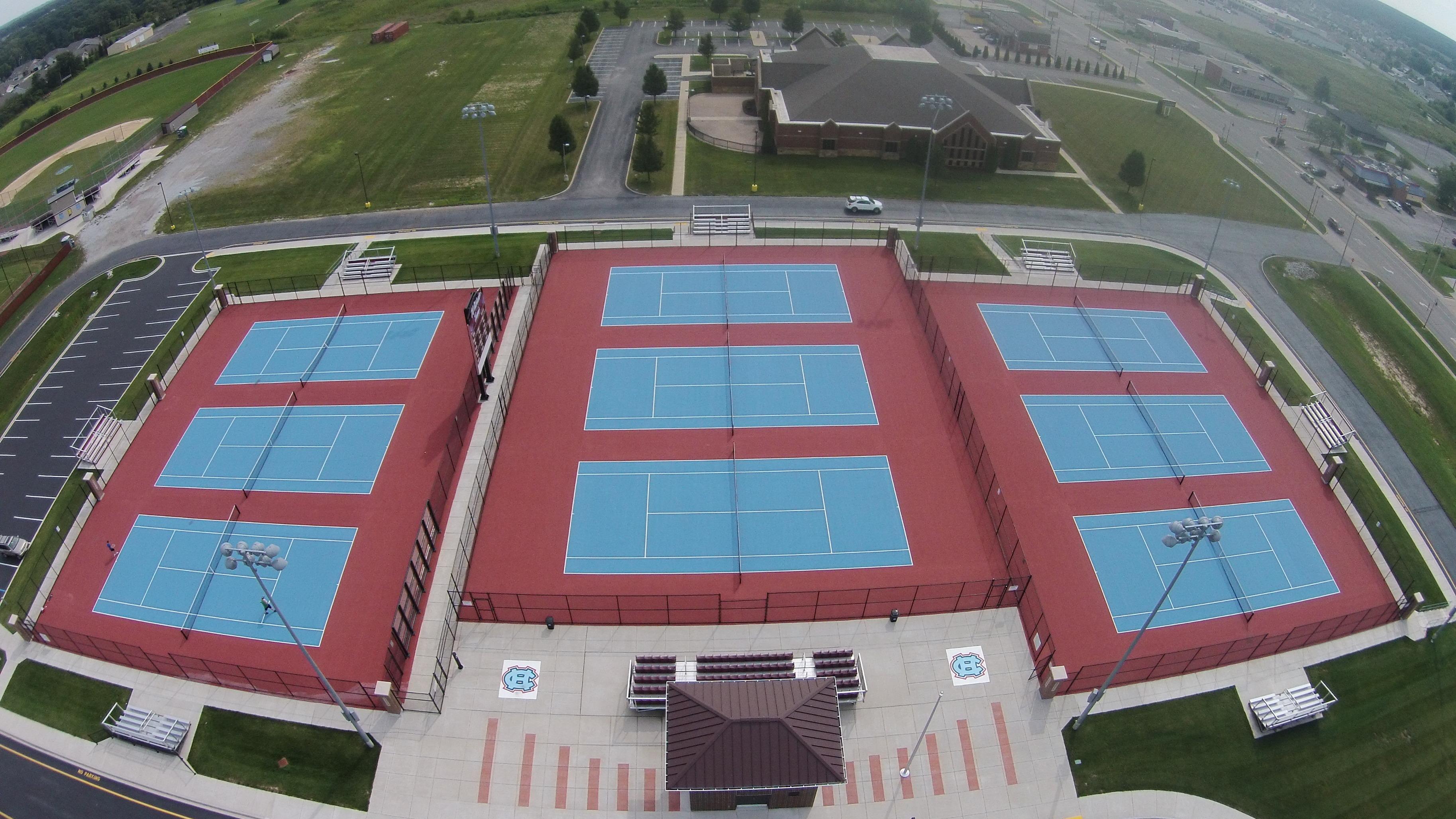 Boys' Tennis Open Hitting