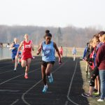 Girls Middle School Track finishes 1st place at Griffith Middle School @ Hanover Central Middle School