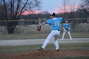 JV Baseball @ Portage  3/30/18