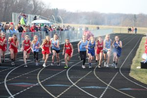Middle School Track vs. Kankakee Valley and North Judson-San Pierre