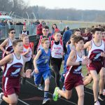 Boys Middle School Track finishes 2nd place at Union Township Middle School @ Union Township Middle School