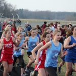 Girls Middle School Track finishes 2nd place at Union Township Middle School @ Union Township Middle School