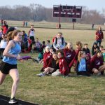Girls Middle School Track finishes 1st place at River Forest Jr. High School @ Hanover Central Middle School