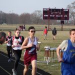 Boys Middle School Track finishes 1st place at River Forest Jr. High School @ Hanover Central Middle School