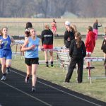 Girls Middle School Track finishes 1st place at Lake Ridge Middle School @ Calumet High School