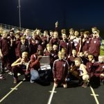 Boys Middle School Track finishes 1st place at Jr. Gssc Conference Meet @ Wheeler High School