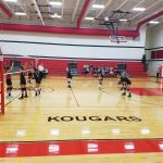 7th Grade Volleyball beats Kankakee Valley 2-0