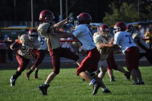 HCMS Football vs. River Forest 9-11-18