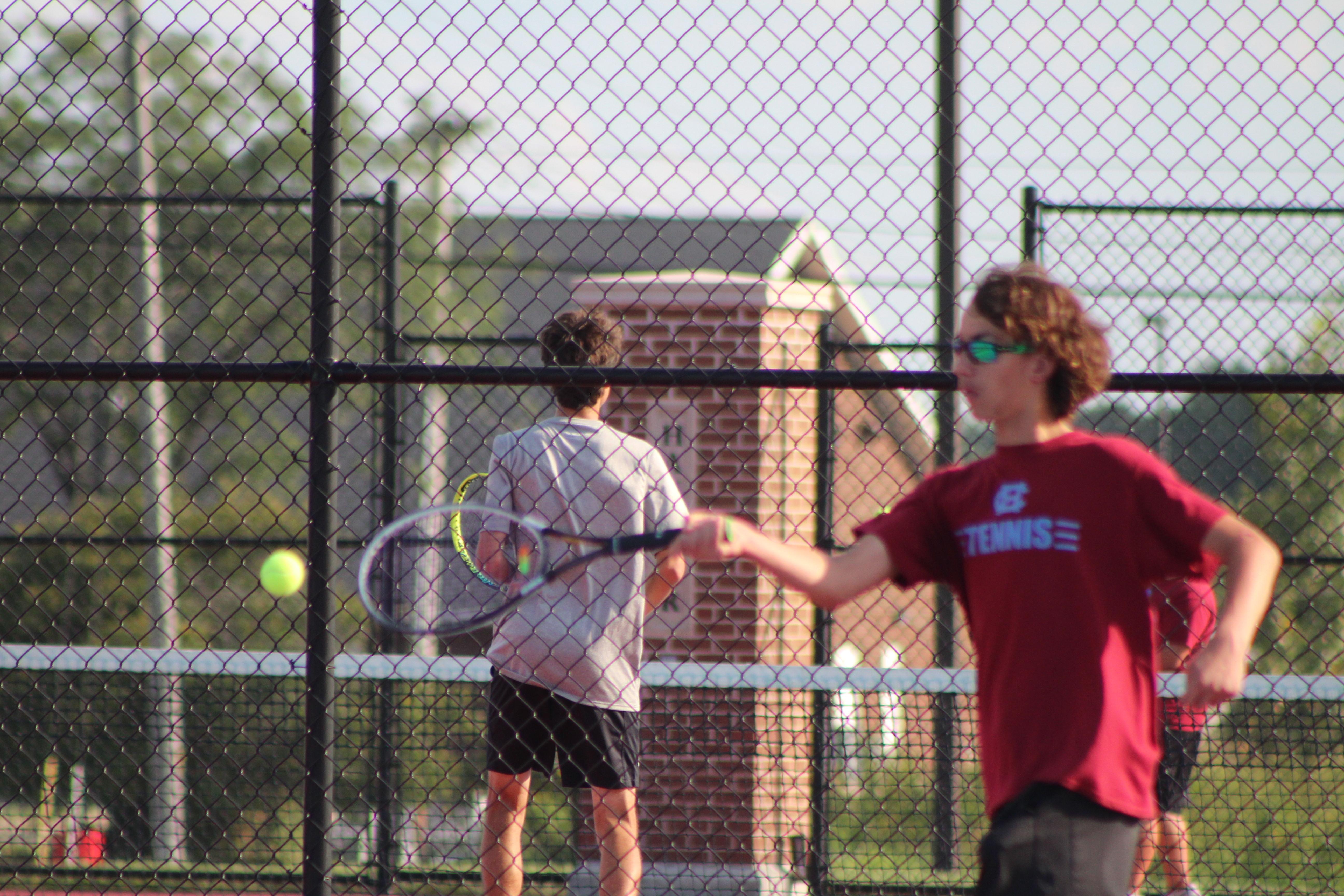 Boys Tennis Cancellation
