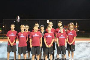 Boys Tennis vs. Bishop Noll 9-25-18