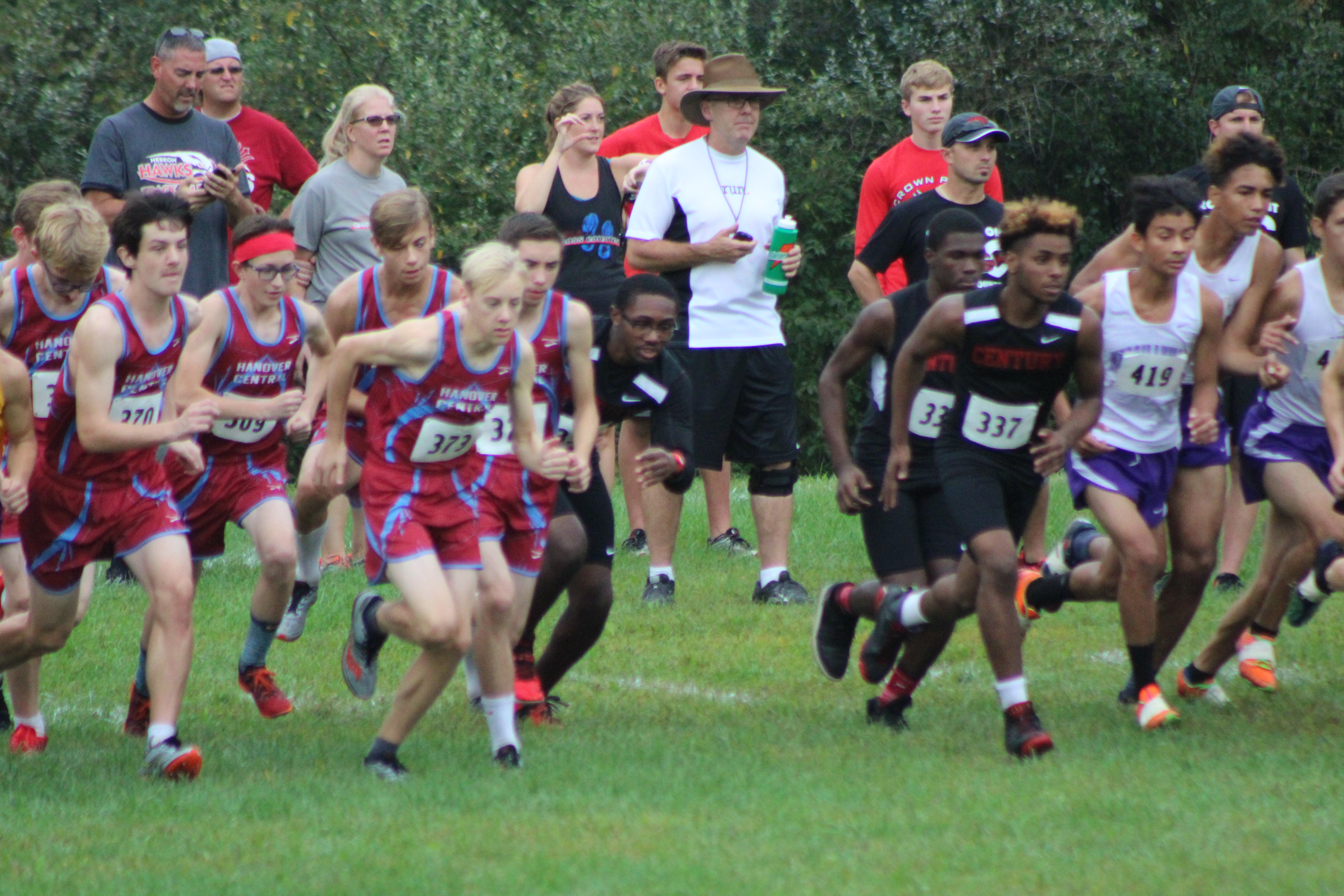Cross Country Individuals to Semi-State
