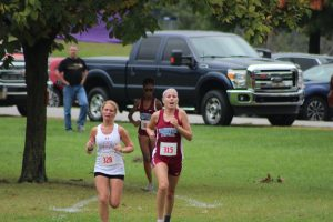 Girls Cross Country Sectional 10-8-16