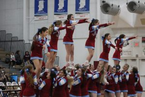 Cheerleading – Senior Night