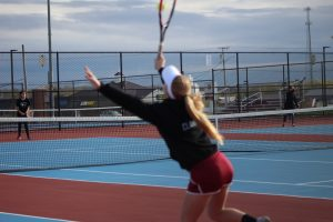 Tennis vs. Griffith 4-24-19