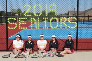 Tennis Senior Night vs. Morton 5-13-19