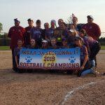 Softball Sectional Champs!