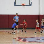 Basketball Campers Working Hard!