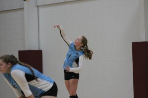 Volleyball vs. Whiting – 9-11-19