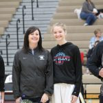 Girls' Basketball Celebrates Teacher Appreciation Night