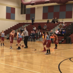 Girls 6th Grade Basketball beats River Forest Jr. High School A/B Game 18-11