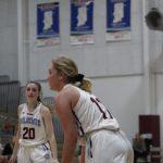 Senior Girls Honored at Basketball Game