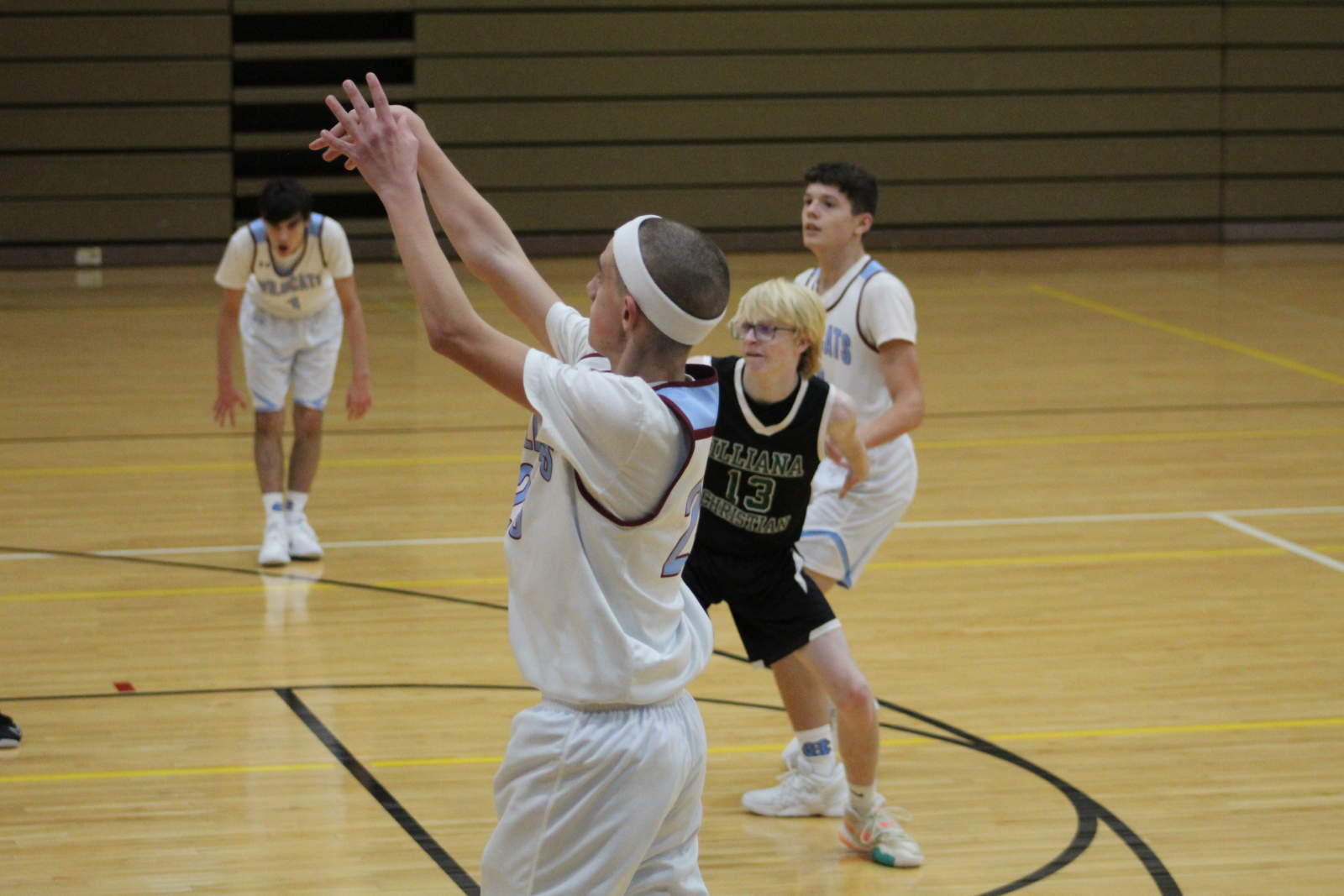 Boys C Team Basketball vs. Illiana – 12-3-20